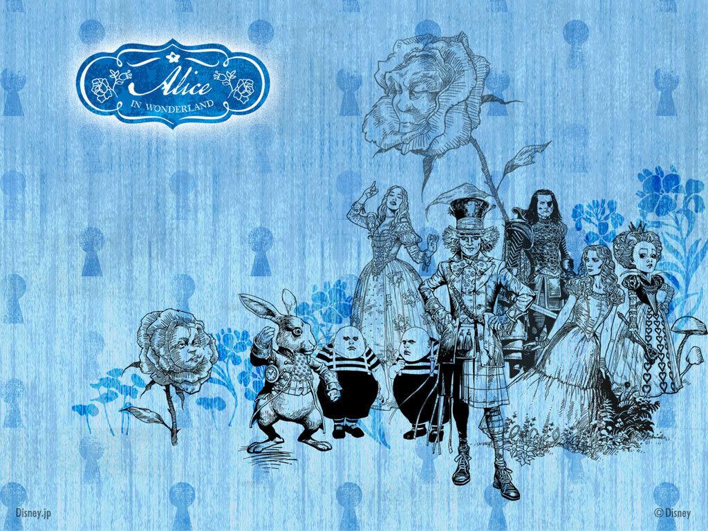 画像 不思議の国のアリス Alice In Wonderland pcデスクトップ