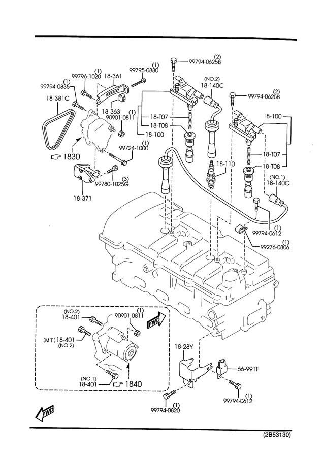 Butterfly: Mazda 3 Engine Bay Diagram