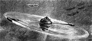Die Strasse 9 aprile 1950 - Ricostruzione dell'elicottero a reazione di Schnittke