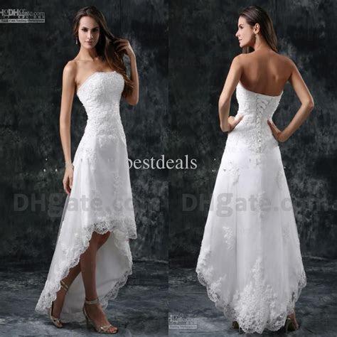 Wholesale Hi Lo Wedding Dresses   Buy Sexy New Strapless