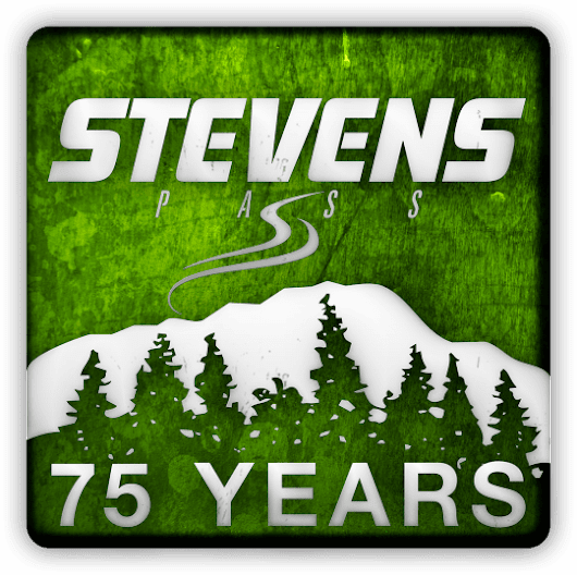 The making of the Stevens Pass anniversary logo, and its hidden memorial