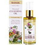Badger Face Cleansing Oil Unscented 2 fl oz