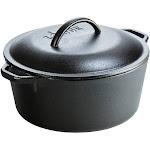Lodge 5qt Cast Iron Dutch Oven