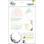 Pinkfresh Studio - Indigo Hills Collection - Sticky Note Pack