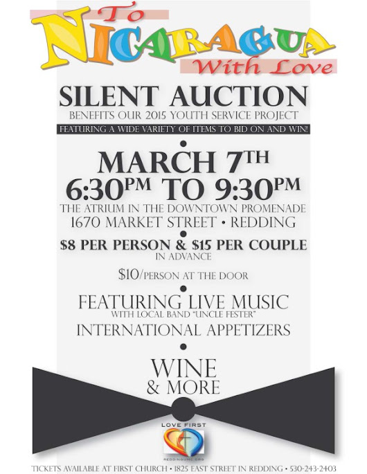 To Nicaragua With Love: Silent Auction March 7 at The Atrium |