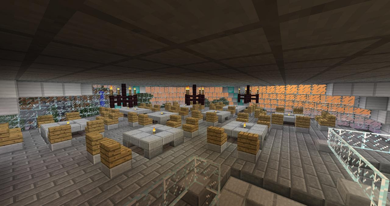Resort Planet Minecraft Project
