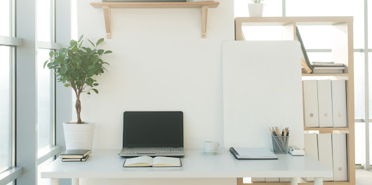 Desk Setup Inspiration for Your Home Office | Quill.com