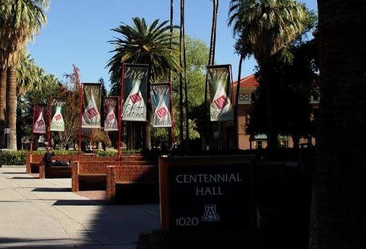 Centennial Hall at the University of Arizona