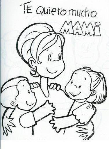Dibujos Para Colorear Para El Día De La Madre Los Mejores