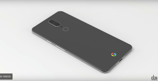 Google Pixel 2 Design Concept Pictures and Video • vlogg.com