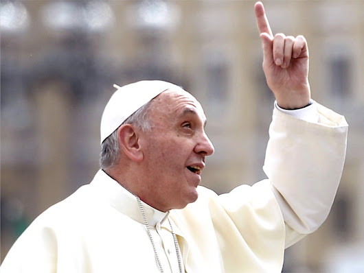 Pope tells atheists: You don't have to believe in God to go to heaven
