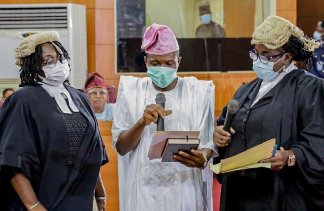 Breaking! Lagos Assembly Swears In New Member Days After By-Election