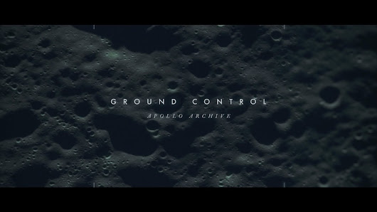 'Ground Control', A Short Video That Brings to Life the Collection of Photographs Taken by Apollo Astronauts