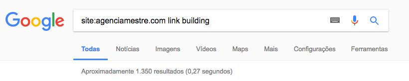 Operador Site: do Google