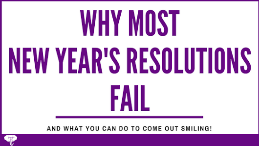 Why Most New Year's Resolutions Fail (and what you can do to come out smiling!) - Toyin Crandell