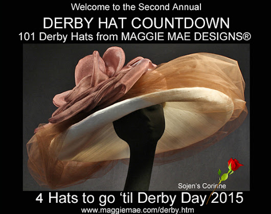 MAGGIE MAE DESIGNS® Derby Hat Countdown - 4 of 101