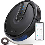 Eufy [BoostIQ] RoboVac 35C, Robot Vacuum Cleaner, Wi-Fi, Upgraded, Super-Thin, 1500Pa Strong Suction, Touch-Control Panel, 6ft Boundary Strips