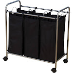 Household Essentials Triple Laundry Sorter