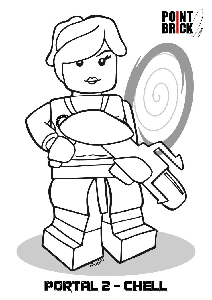 Lego Dimensions Coloring Pages At Getdrawingscom Free For
