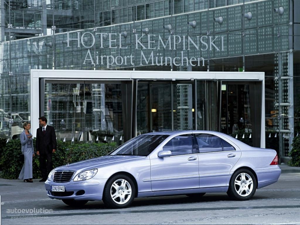 Mercedes Benz S Klasse W220 Specs Photos 2002 2003