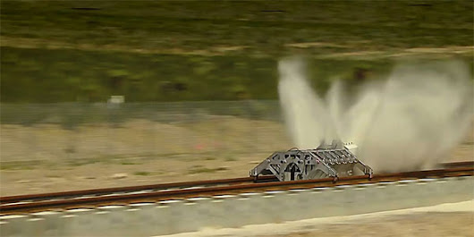 Hyperloop Propulsion Gets Public Demo