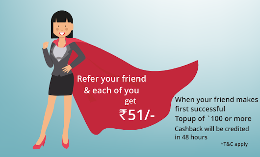 Viola Wallet - Signup & Get Rs.51 Cashback on Topup of Rs.100 & Rs.51 Per Referral - Bigtricks.in