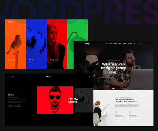 POFO Creative Portfolio and WordPress Blog Theme Review - Colorlib