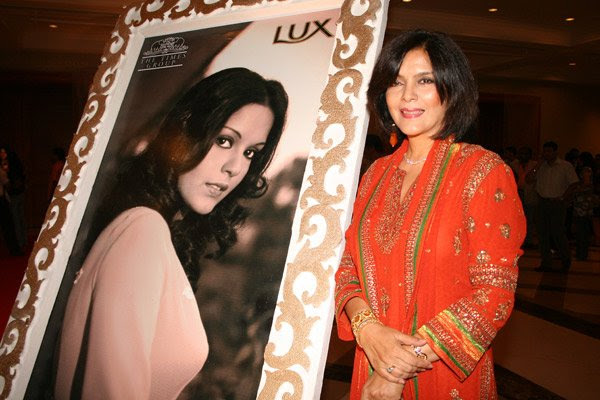 Lux Inspiring Beauty by Omar Qureshi and Times Of India, Zeenat Aman