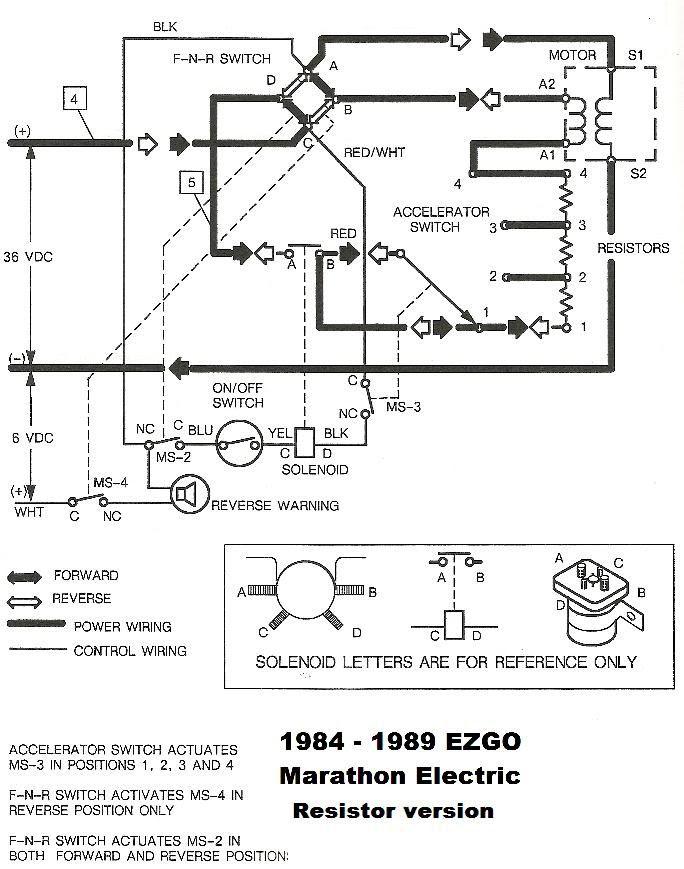 Marathon Golf Cart Wiring Diagram