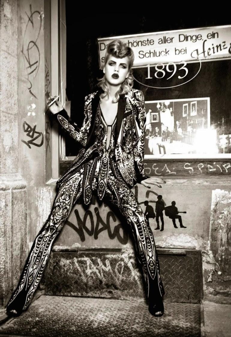 Line Brems 'An Unconventional Mood' Ellen Von Unwerth For Vogue Italia 9