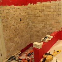 Tiling A Shower