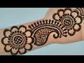 Simple Mehndi Design Full Hand Arabic