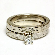 14k white gold .35ct round diamond engagement ring wedding