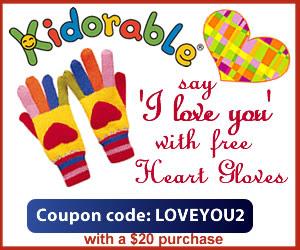 Free Valentine Gloves
