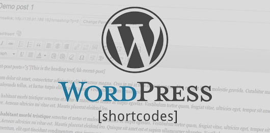 Display Wordpress shortcodes without executing them