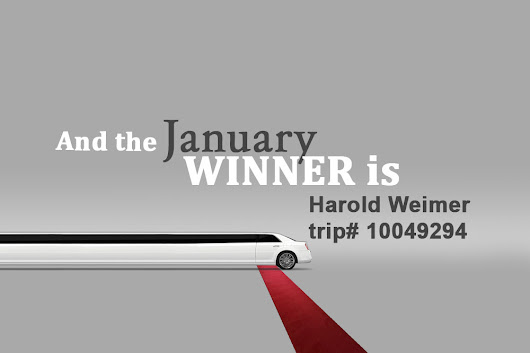 Winner of the Month – January 2018 – Colony Limo Blog
