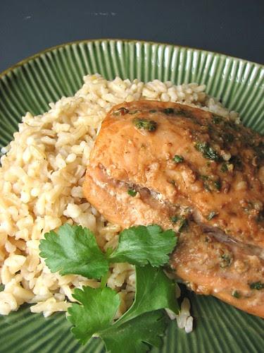 Tamarind Glazed Salmon