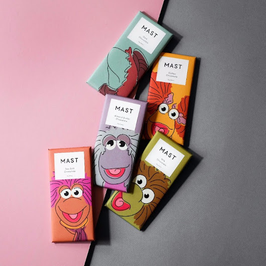The Fraggle Rock Collection Chocolate Bars