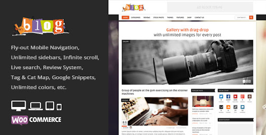 Download Bblog - Blog / Magazine WordPress Theme nulled | OXO-NULLED