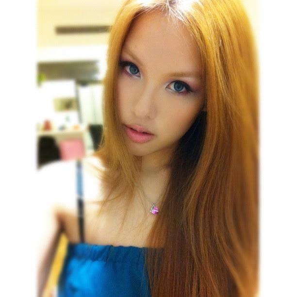 #ootd #lookoftheday my make up tonight. Pink vs turquoise. <3