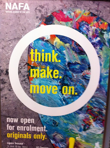 think, make, move on by ellen forsyth