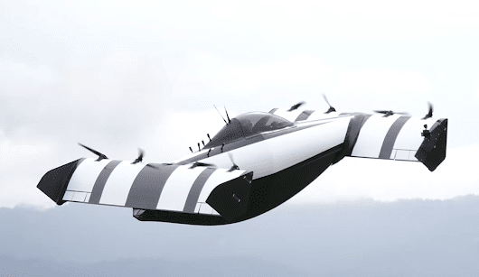 BlackFly - the newest flying car