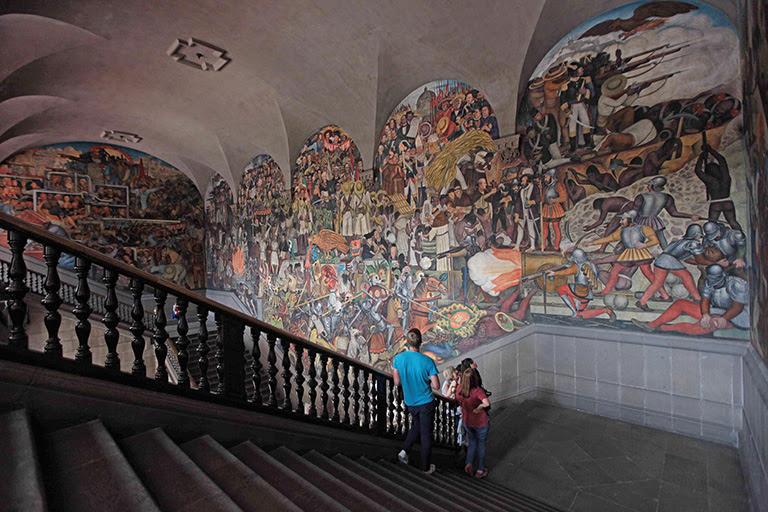 Murales De Diego Rivera Con Informacion