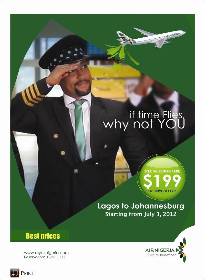 Air Nigeria Johannesburg