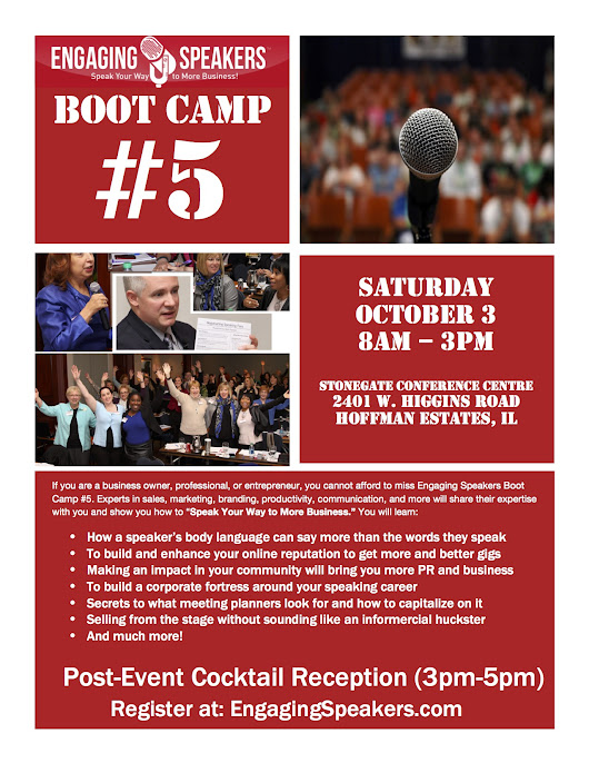Engaging Speakers Boot Camp 5