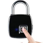 usb rechargeable smart keyless fingerprint lock ip65