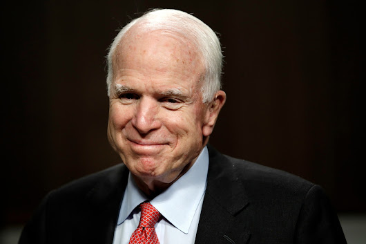 McCain set to return to Washington on Tuesday