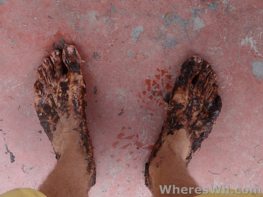 Tips on Trekking Barefoot in the Jungle