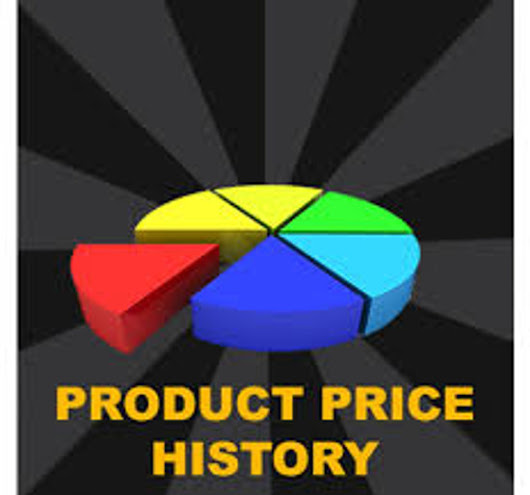 I will produce a product price history from eBay