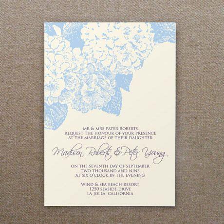 Invitation Template: Hydrangea Flower   Printable Wedding